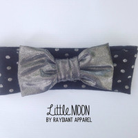 Glam Bow Knot Baby Headband Toddler Head Wrap