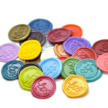 Self Adhesive Wax Seal Stickers - Available in 26 Colors