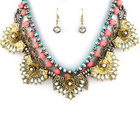Antoinette Statement Necklace Set