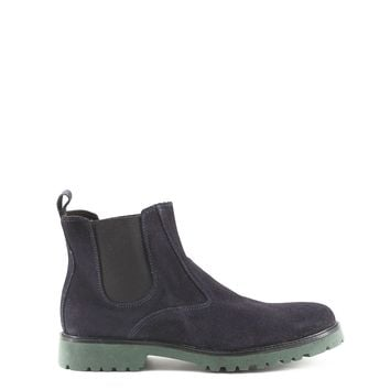 Made in Italia Blue Suede Ankle Boots