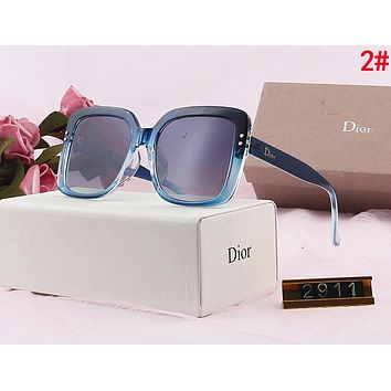 DIOR Popular Ladies Delicate Fashion Summer Sun Shades Eyeglasses Glasses Sunglasses 2#