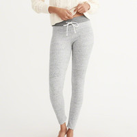 Womens Lounge Fleece Leggings | Womens Lounge & Sleepwear | Abercrombie.com