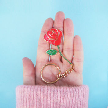 ROSE KEYCHAIN - Black Friday Sale!