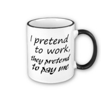 Funny coffee cups unique gift ideas or retail item coffee mug from Zazzle.com