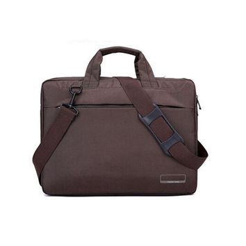 Brown Laptop Bag for Women 14 Inches Laptop Messenger Bag