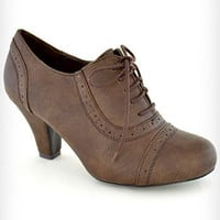 Whiskey Mill Oxford Heels | PLASTICLAND