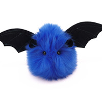 Jet the Dark Blue Bat Stuffed Animal Plush Toy