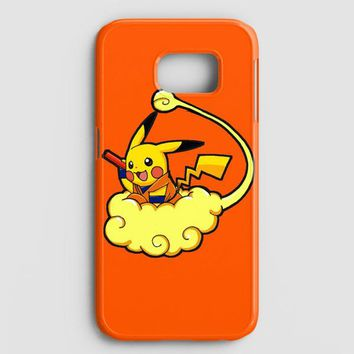 Pikachu Pokemon Goku Dragon Ball Z Samsung Galaxy S8 Case
