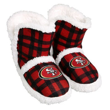 SAN FRANCISCO 49ERS OFFICIAL NFL FLANNEL SHERPA 34.99