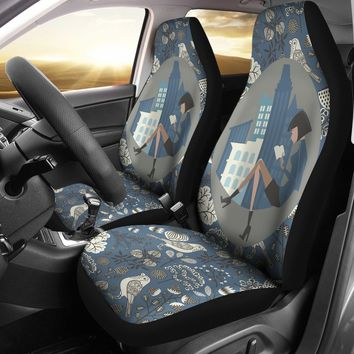 City Reading Car Seat Covers