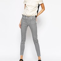 French Connection Gingham Jeans