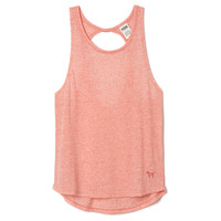Twist Cutout Tank - PINK - Victoria's Secret