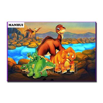 5D Diamond Painting The Land Before Time Kit