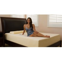Cal King Size 10-inch Thick Memory Foam Mattress with 2 Pillows