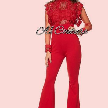 Monnie Wide Bottom Jumpsuit