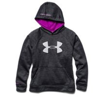 Under Armour Boys UA Storm Armour Fleece Big Logo Blocked Hoodie