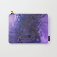 Sahasrara (crown chakra) Carry-All Pouch by duckyb