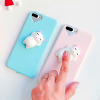 Squishy 3D Cat Case for IPhone