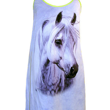 Moonshadow Fantasy Horse Lilac Dress