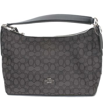 Coach East/West Celeste Convertible Hobo in Outline Signature