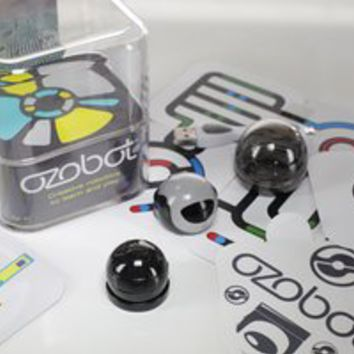 Ozobot 2.0 Bit, the Educational Toy Robot that Teaches STEM and Coding, Titanium Black