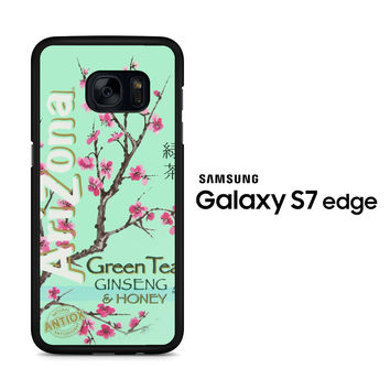 Arizona Green Tea SoftDrink Samsung Galaxy S7 Edge Case