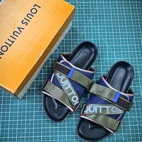 Louis Vuitton Monogram Slide Lv Sandals Style 2 - Best Online Sale