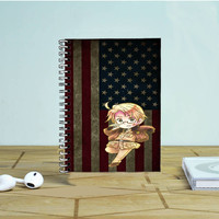 Hetalia America Usa Photo Notebook Auroid