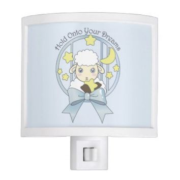 Cute Animal Night Lights for Children: Little Lamb, Moon, and Stars: Hold Onto Your Dreams: Sweet Gift Idea for Baby Shower and Newborns
