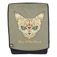 Day of the Dead, Cat Sugar Skull Backpack