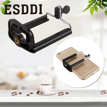 hot Mobile Clip Clamp Holder U Slot Mount Stand Adapter Spring Retractable Professional Photograph Accessories Gift For Phone