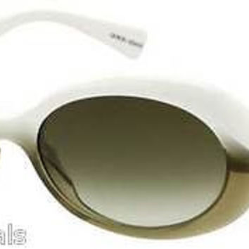 NEW AUTHENTIC GIORGIO ARMANI GA 645/S COL K1ND8 WHITE/GREY PLASTIC SUNGLASSES