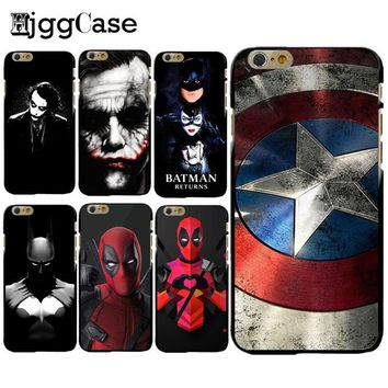 Deadpool Dead pool Taco For iPhone 7Plus 5 5S SE 6 6S 7 7 Plus Soft silicone Case Captain America iron Man  Design Fundas Phone Cover Capa Coque AT_70_6
