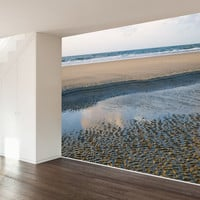 Paul Moore's Sandy Beach Mural wall decal