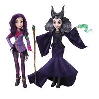Disney Descendants - Mal Isle of the Lost & Maleficent Doll 2-Pack