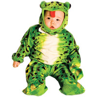 Toddler Costume: Frog Plush Green | 18M-24M