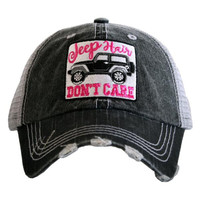 "NEW!! ""Jeep Hair Don't Care"" Trucker Hat"