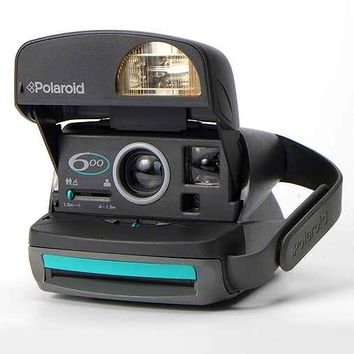 Impossible Vintage Express 600 Teal Polaroid Instant Camera Set- Turquoise One