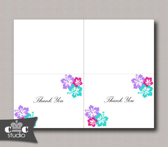 Best Folded Wedding Thank You Cards Products on Wanelo – Printable Wedding Thank You Cards