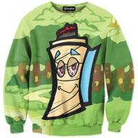 Dude Hit This Map Crewneck
