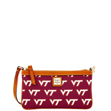 NCAA Virginia Tech Large Slim Wristlet