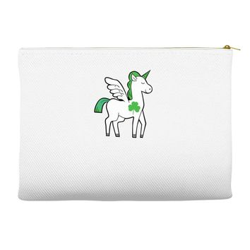 irish unicorn Accessory Pouches