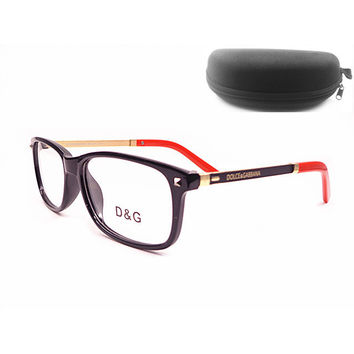 Perfect D&G Women Edgy Optical Clear Lens Fashion Brand Designer Eyeglasses Glasses