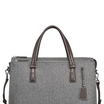 Women's Tumi 'Sinclair - Nina' Coated Canvas Commuter Briefcase (16 Inch)