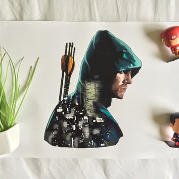 The Green Arrow - A3 Print