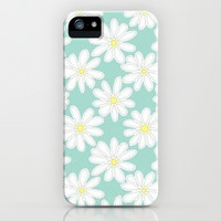 Daisy Love iPhone & iPod Case by Pink Berry Pattern