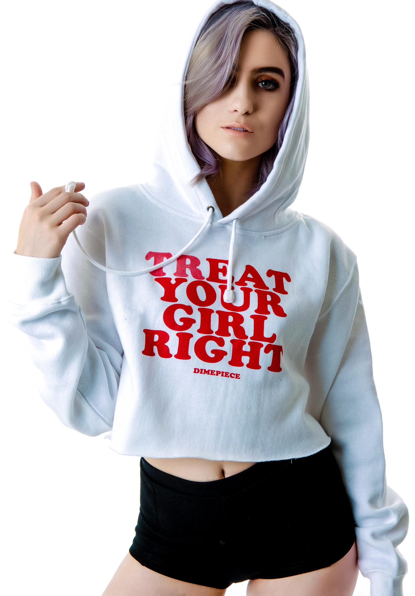 Home Decor On A Dime Dimepiece Treat Your Girl Right Hoodie From Dolls Kill