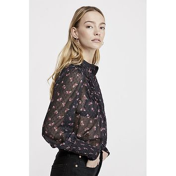 Flowers in December Blouse