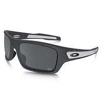 OAKLEY TEAM USA TURBINE Sunglasses OO9263-17 Matte Dark Gray / Black Iridium