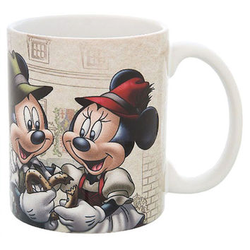 disney parks epcot germany mickey and minnie willkommen ceramic coffee mug new